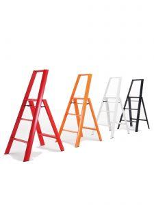 3-Step Stool Ladder - Group- Lifestyle Photo