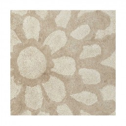 Beautiful Large Graphic Flower Bath Mat Otil-21