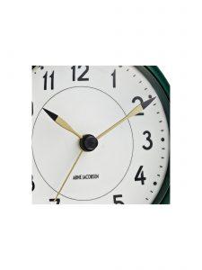 station table clock arne jacobsen racing green 3