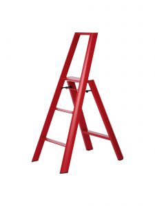 3-Step Ladder - Red