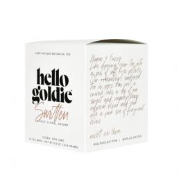 smitten cbd tea hello goldie front side