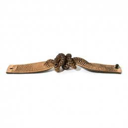 rattlesnake leather bracelet natural oropopo