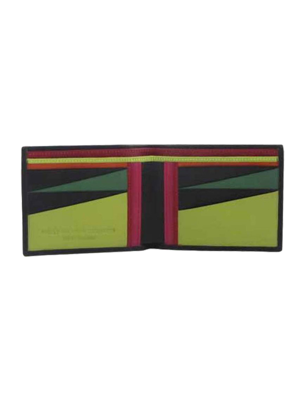 bi-fold wallet hester van eeghen multicolor