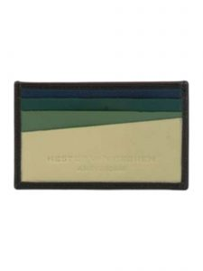 Slim Italian Leather Card Holder Wallet