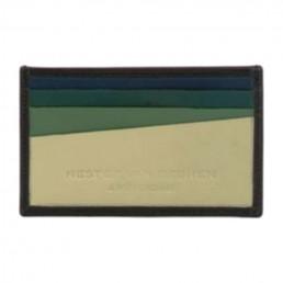 Slim Italian Leather Card Holder Wallet