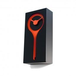 Italian Handmade Koo-Koo Cuckoo Clock in Wenge and Orange