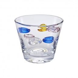 Colorful Pastoral Glass Vase