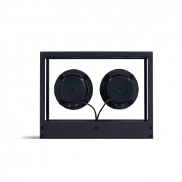 transparent speaker small black rear 1