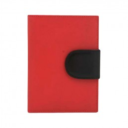 in the clouds wallet hester van eeghen red & black closed