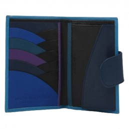 in the clouds wallet hester van eeghen turquoise & blue open