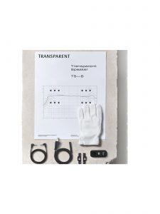 transparent speaker large accessories black