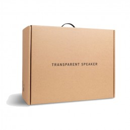transparent speaker packaging