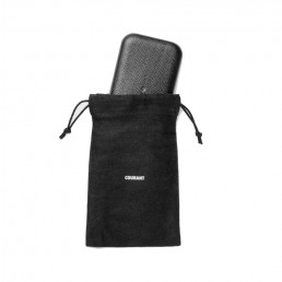 carry wireless charger black courant dust bag charger
