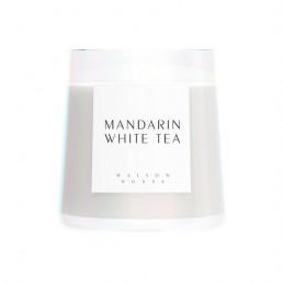 scented candle mandarin white tea candle maison house