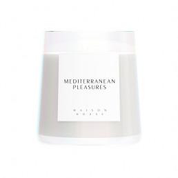 scented candle mediterranean pleasures candle maison house