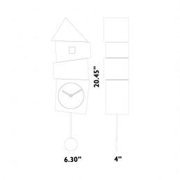 crooked cuckoo clock progetti graphic