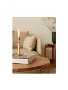 duca polished brass candle holder lifestyle 2.jog
