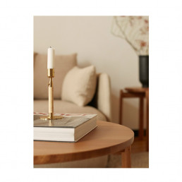 duca polished brass candle holder lifestyle 2.jog