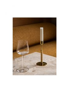 duca polished brass candle holder lifestyle 4