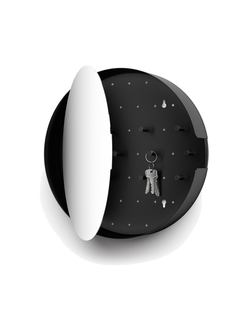 nolma key cabinet mirror small zack open