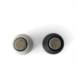 salt pepper bottle grinder menu ash carbon steel lids top