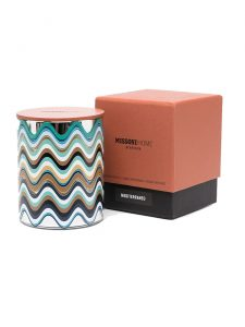 scented candle missoni mediteranneo packaging