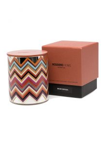 scented candle missoni monterosa packaging