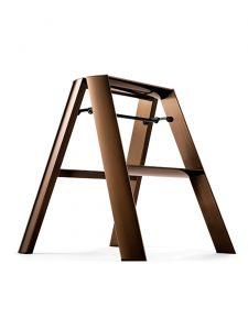 step stool 2 step ladder premium edition lucano bronze