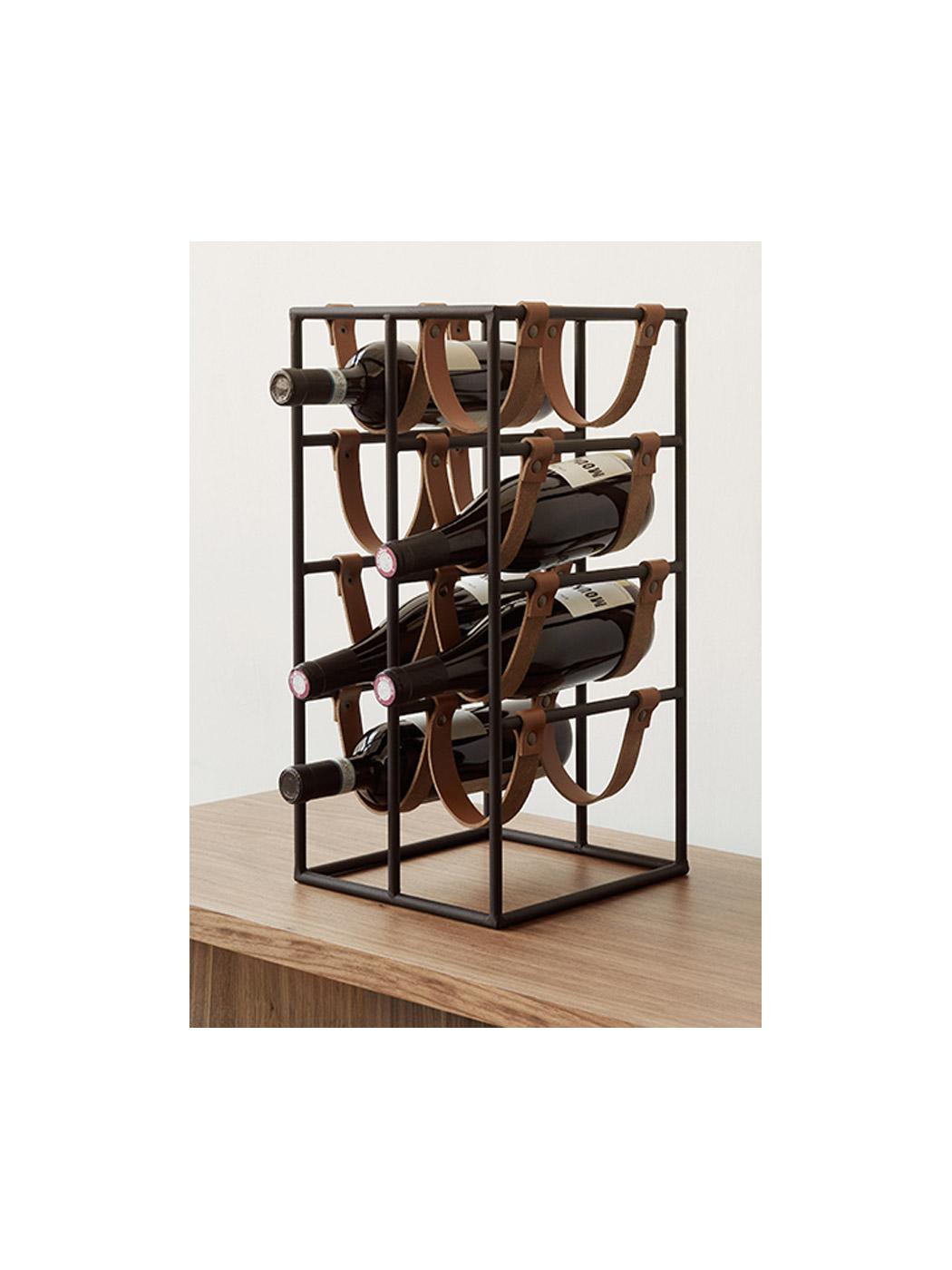umanoff wine rack menu display side cropped