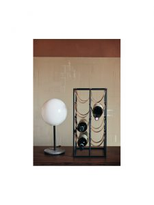 umanoff wine rack menu lifestyle display lamp