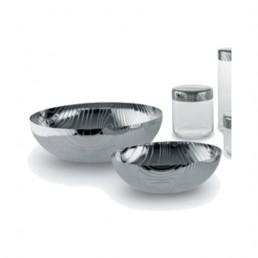 veneer bowl alessi large stainless steel lifestyle