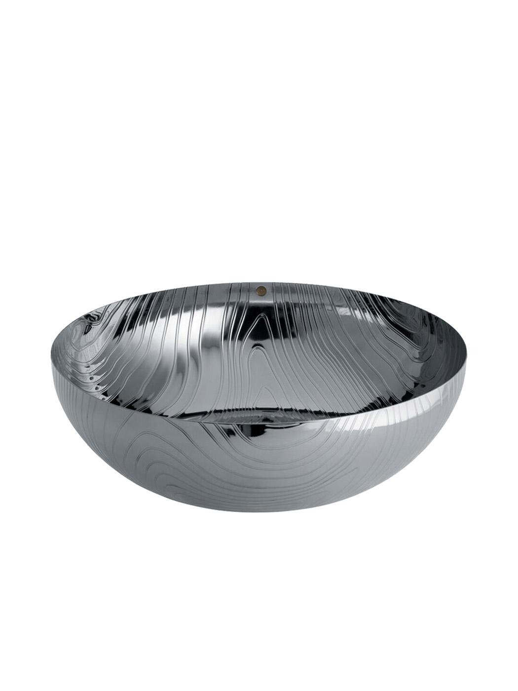 veneer bowl alessi large stainless steel side