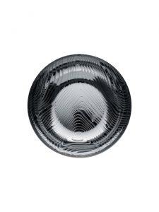 veneer bowl alessi large stainless steel top view