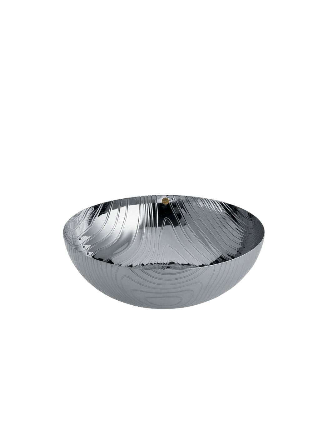 veneer bowl alessi small stainless steel