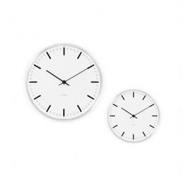 wall clock city hall arne jacobsen pair 2