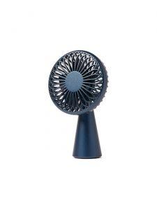 wino mini portable wireless fan blue
