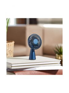 wino mini portable wireless fan lexon lifestyle blue
