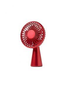 wino mini portable wireless fan red