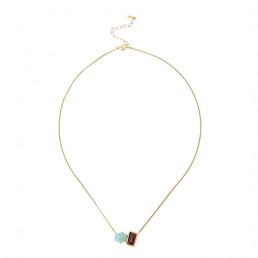 amazonite garnet necklace chan luu