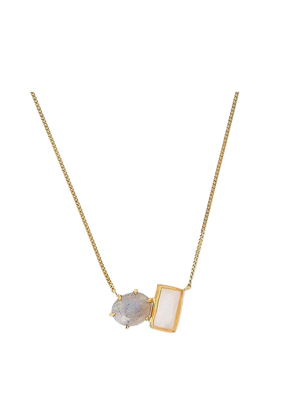 moonstone labradorite necklace 2 chan luu 1