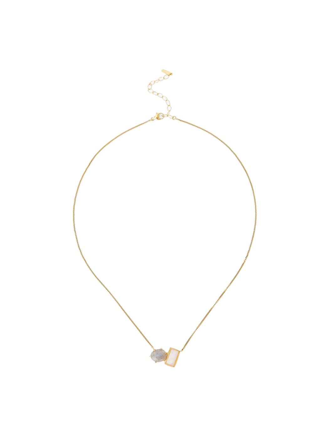 moonstone labradorite necklace chan luu