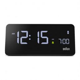 alarm clock phone charger braun front