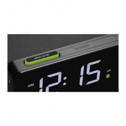 alarm clock phone charger braun snooze 118