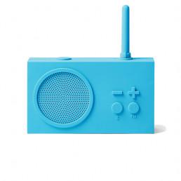 fm radio bluetooth tykho 3 lexon bright blue 2