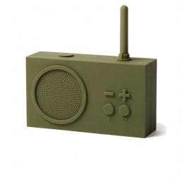 fm radio bluetooth tykho 3 lexon khaki