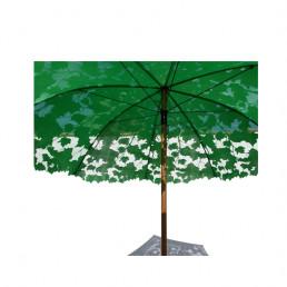 shadylace parasol patio umbrella droog green close