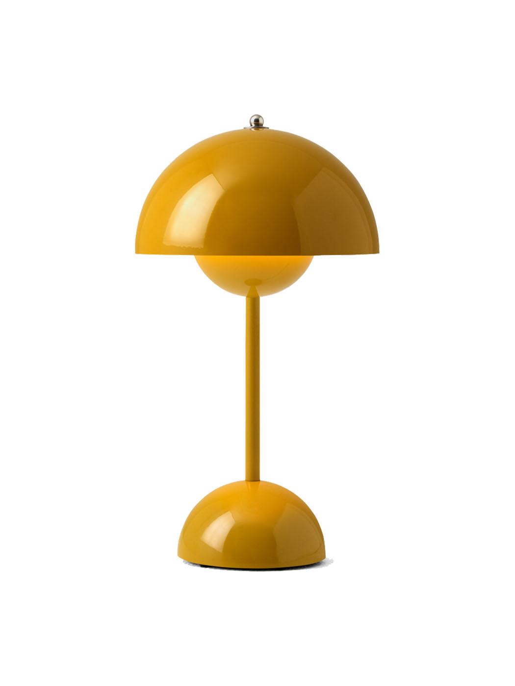flowerpot VP9 lamp tradition mustard